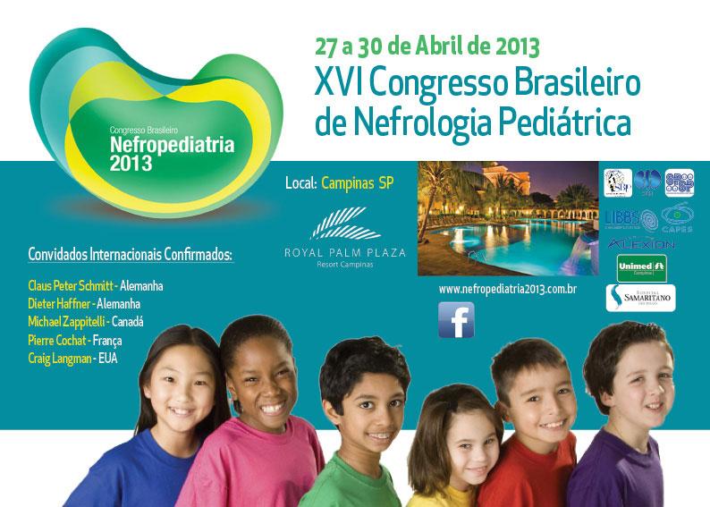 imagem de folder para Nefropediatria