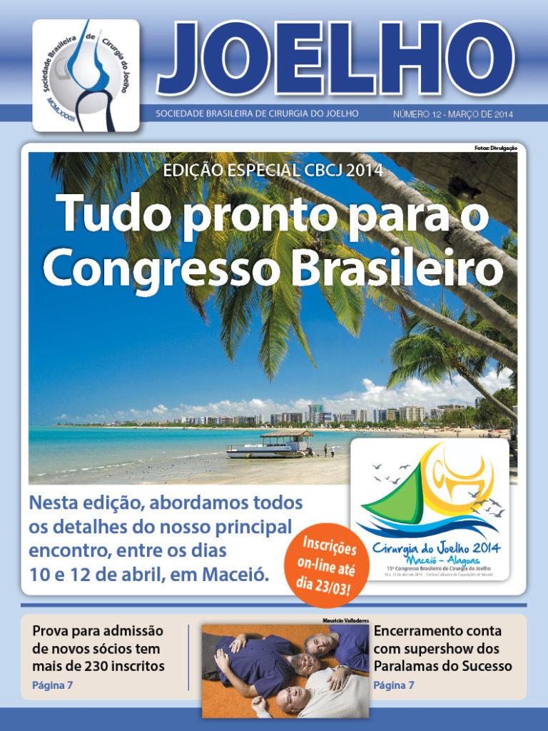 capa jornal joelho -SBCJ