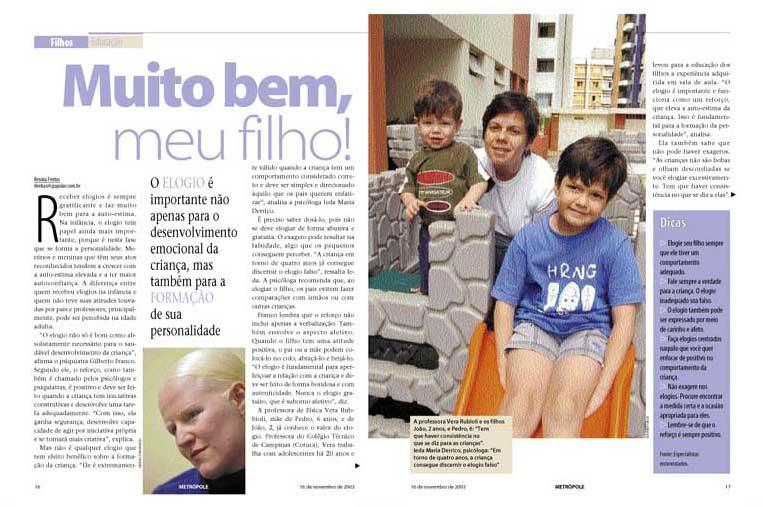 páginas internas revista metrópole - RAC