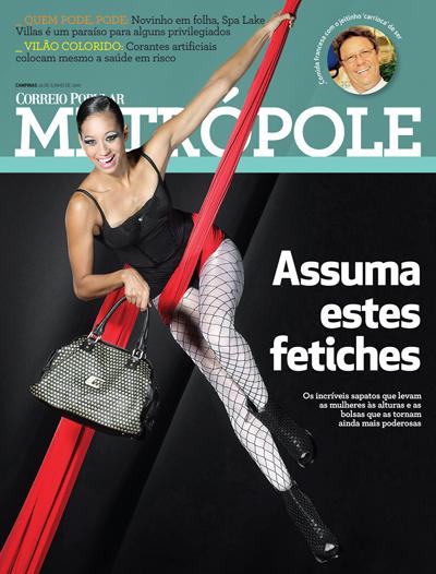 capa revista metrópole - RAC