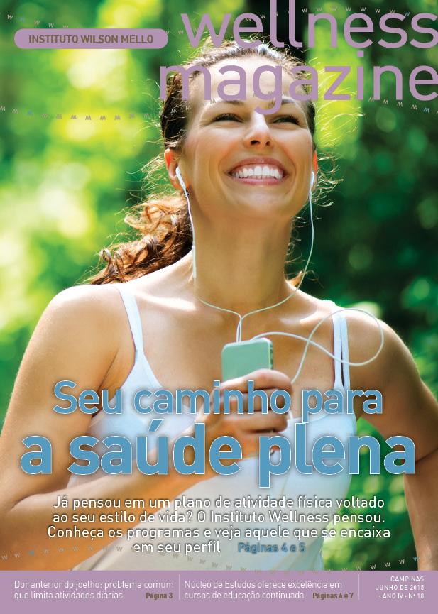 capa revista wellnes - IWMello